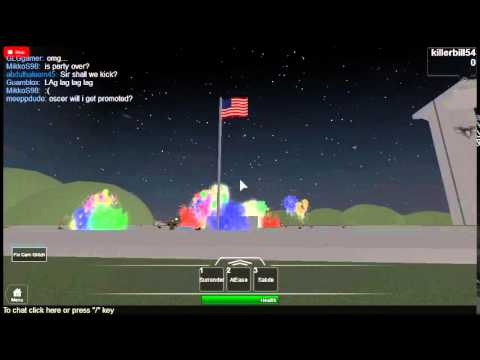 Roblox Allied Airborne Boot camp 4th of July