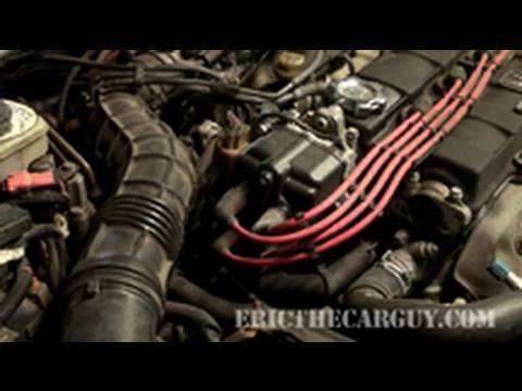 Replacing a Distributor, Acura Integra - EricTheCarGuy - YouTube