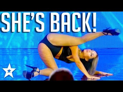 SEXIEST DANCER On Georgia's Got Talent | ანტონინა გოლოსეევა | Got Talent Global