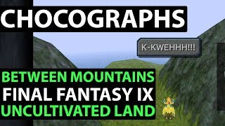 Final Fantasy 9 PS4 Walkthrough - PERFECT GAME - CHOCOGRAPHS Between Mountains & Uncultivated Land