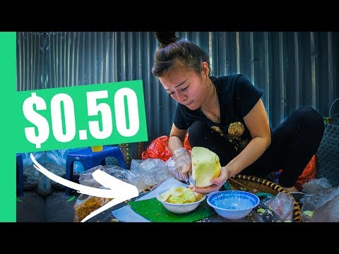 FIVE Must-Eat Hanoi STREET FOODS! (Egg Coffee, Bun Rieu, Xoi