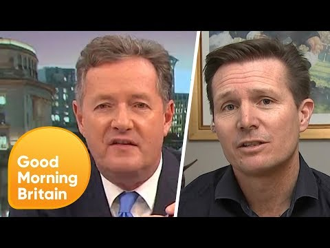 Piers Morgan and Roger Black React to 'Explosive' Doping Report | Good Morning Britain