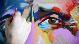 ZazzArt - Giuseppe Verdi - Expressionist painting