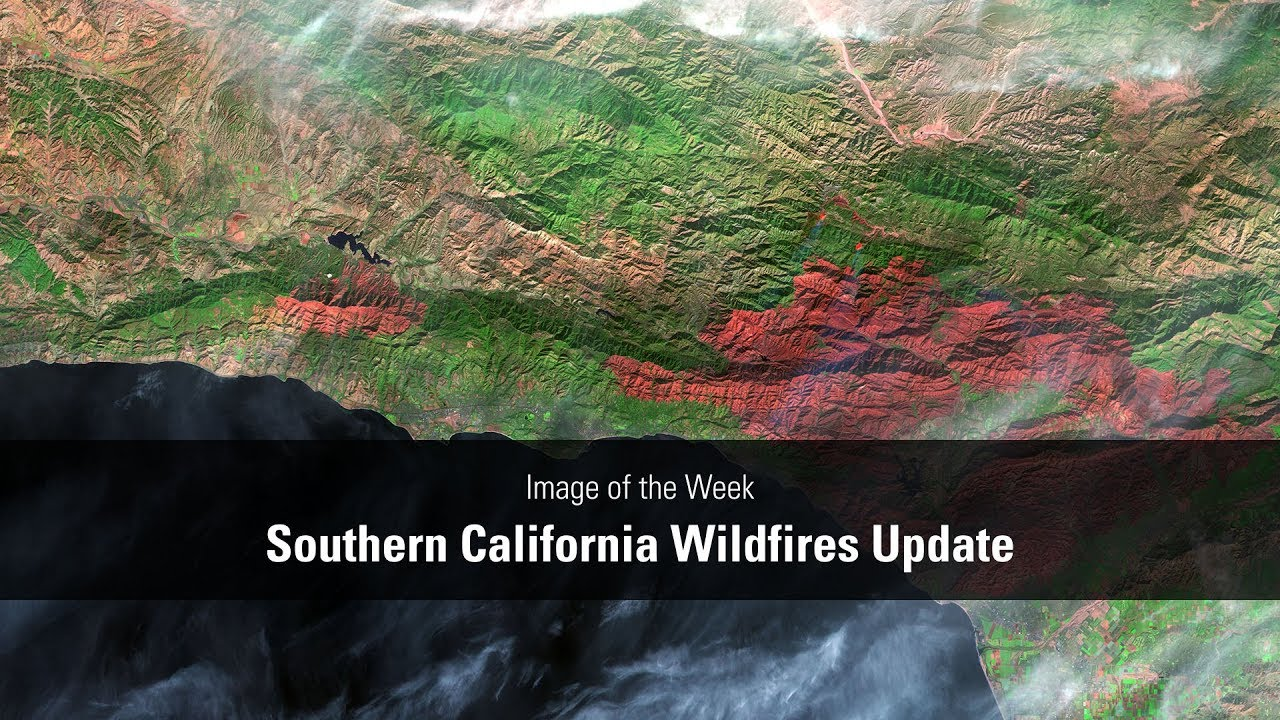 Southern California Wildfires Update