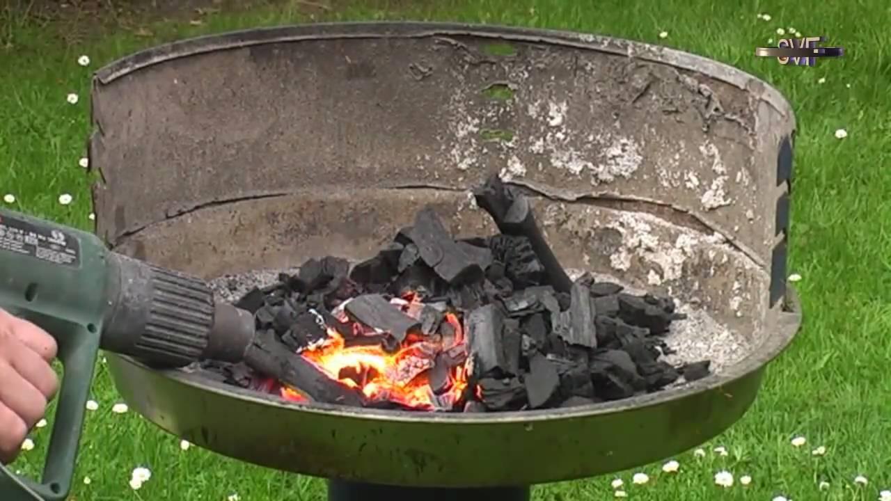 Weber Holzkohlegrill Anheizen : Weber grill anheizen youtube