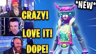 Streamers React to *NEW* Dj Bop Skin LIVE at the Ninja New Year Special Event! | Fortnite Highlights