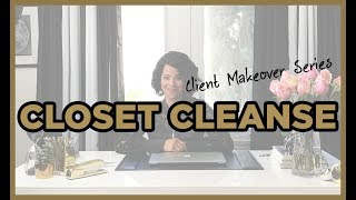 Client Makeover: Witty Writer {Part 2: The Closet Cleanse}