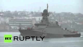 Малый ракетный корабль «Зеленый дол» отправился к берегам Сирии