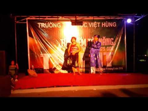 Tiểu phẩm hài kịch: Lý Trưởng - Mẹ Đốp dự thi của tổ 2 và tổ 4 - TH Việt Hùng