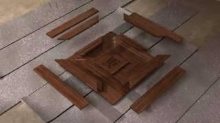 Технология модульного паркета(Видео с сайта - http://victorianfloor.com., 2011-10-23T09:12:22.000Z)