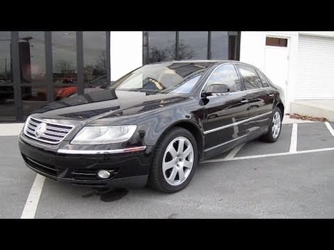 2004 volkswagen phaeton w12 start up engine and in depth tour youtube. Black Bedroom Furniture Sets. Home Design Ideas