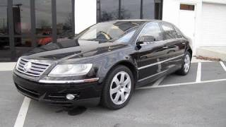 2004 Volkswagen Phaeton W12 Start Up, Engine, and In Depth Tour