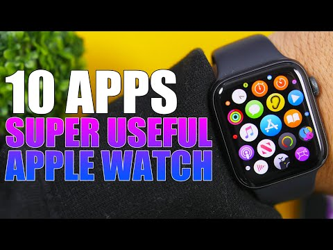 10 APPS That Will Make APPLE WATCH More USEFUL !