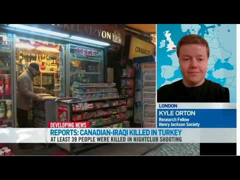 Kyle Orton, Research Fellow at HJS, on Turkish Nightclub Attack with CTV