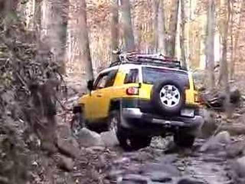 Jeep Cj7 & Toyota FJ Cruiser-Offroading-Windrock 11-07