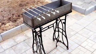Как сделать мангал своими руками(Простая и одновременно красивая конструкция мангала, экономно сделанного своими руками из металла. Как..., 2014-11-24T10:52:44.000Z)