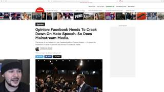 Regressive Left Calls For Censoring 'Mainstream Media' AND Facebook??!