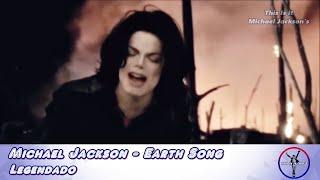 Michael Jackson Earth Song Legendado HD