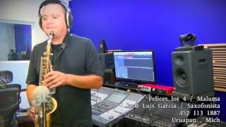 Felices los 4 - Maluma (sax cover jose luis garcia Saxofonista)