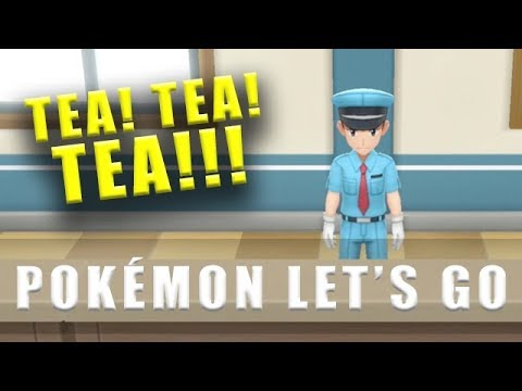 Pokemon Let's Go tea location for the guard - How to get to Saffron City