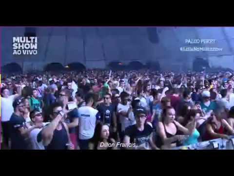 Dillon Francis Lollapalooza Brazil 2015 Live Set [720p - Incomplete] 15min