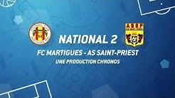 NATIONAL 2 // FC MARTIGUES - AS SAINT-PRIEST (3-1)