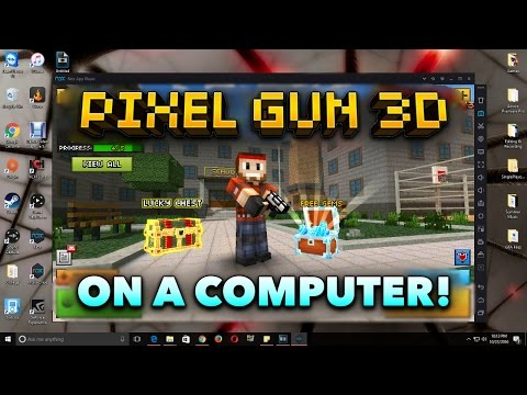 How to Download Pixel Gun 3D on Your Computer!