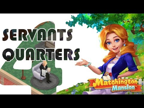 MATCHINGTON MANSION servants quarters gameplay