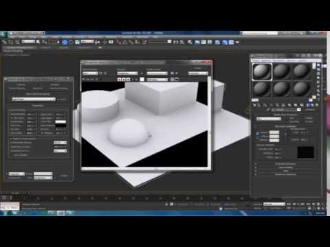 Tutorial : 3ds Max : Ambient Occlusion
