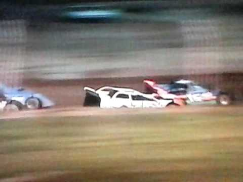 Dog Hollow Speedway 9-4-16 SLM Heat 1