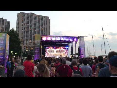 OK Go - Get Over It | 7.19.17 @ The Waterfront Plaza at Brookfield Place
