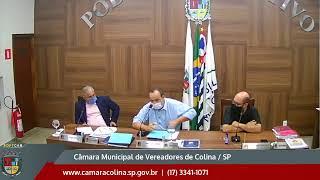 Câmara Municipal de Colina - 7ª Sessão Ordinária 03/05/2021