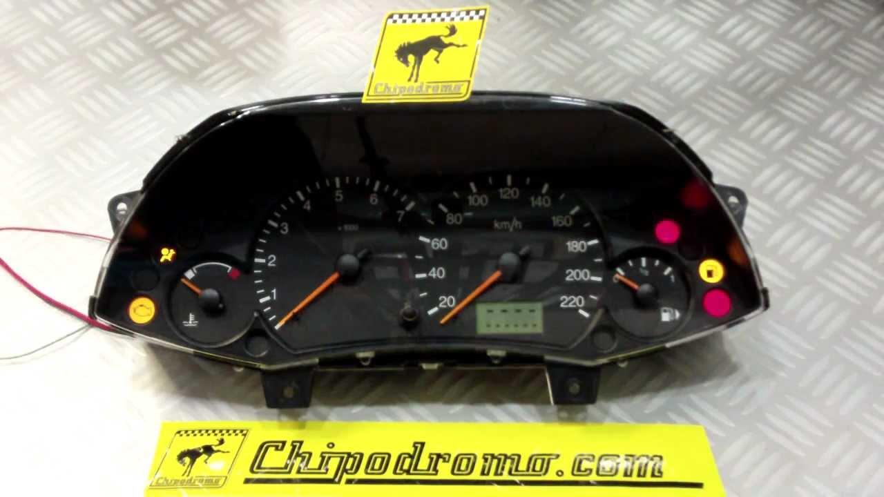 Ford Transit Connect >> Reparación / Comprobación Cuadro de Instrumentos Ford ...