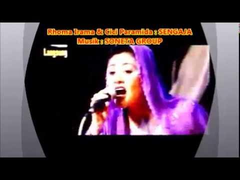 Cici Paramida --  SENGAJA --  Musik oleh Soneta Group Rhoma Irama -- 1,03