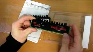 G.Skill Ripjaws DDR3 RAM Unboxing Linus Tech Tips