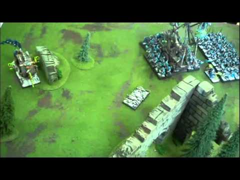 Skaven vs Orcs 01- Battle at the Brakenstones
