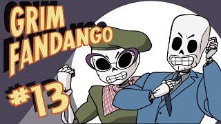 Stumpt Plays - Grim Fandango - #13 - S.S Lola (PC 1080p Gameplay)