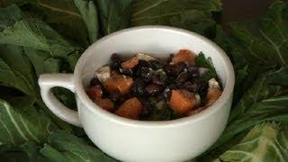 A Recipe For Sweet Potato, Feta & Black Bean Salad : Sweet Potato Salads