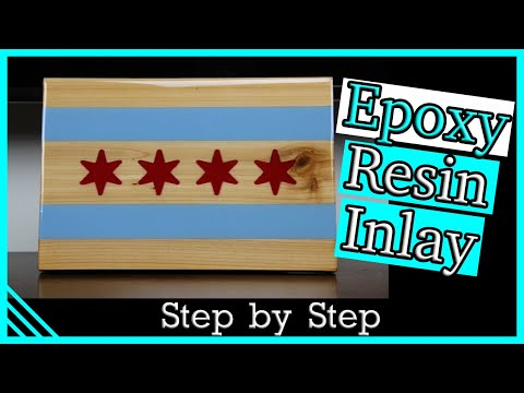 DIY Epoxy Resin Art to Enhance Your Art! Inlay with Resin.