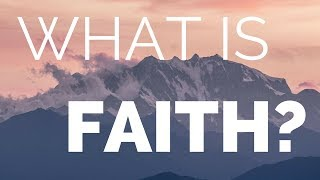 What is Faith? A message from Rabbi Yitzi Hurwitz