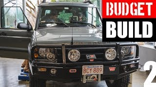 $5000 4x4 BUDGET BUILD!!! Part 2: How To Build A Land Rover