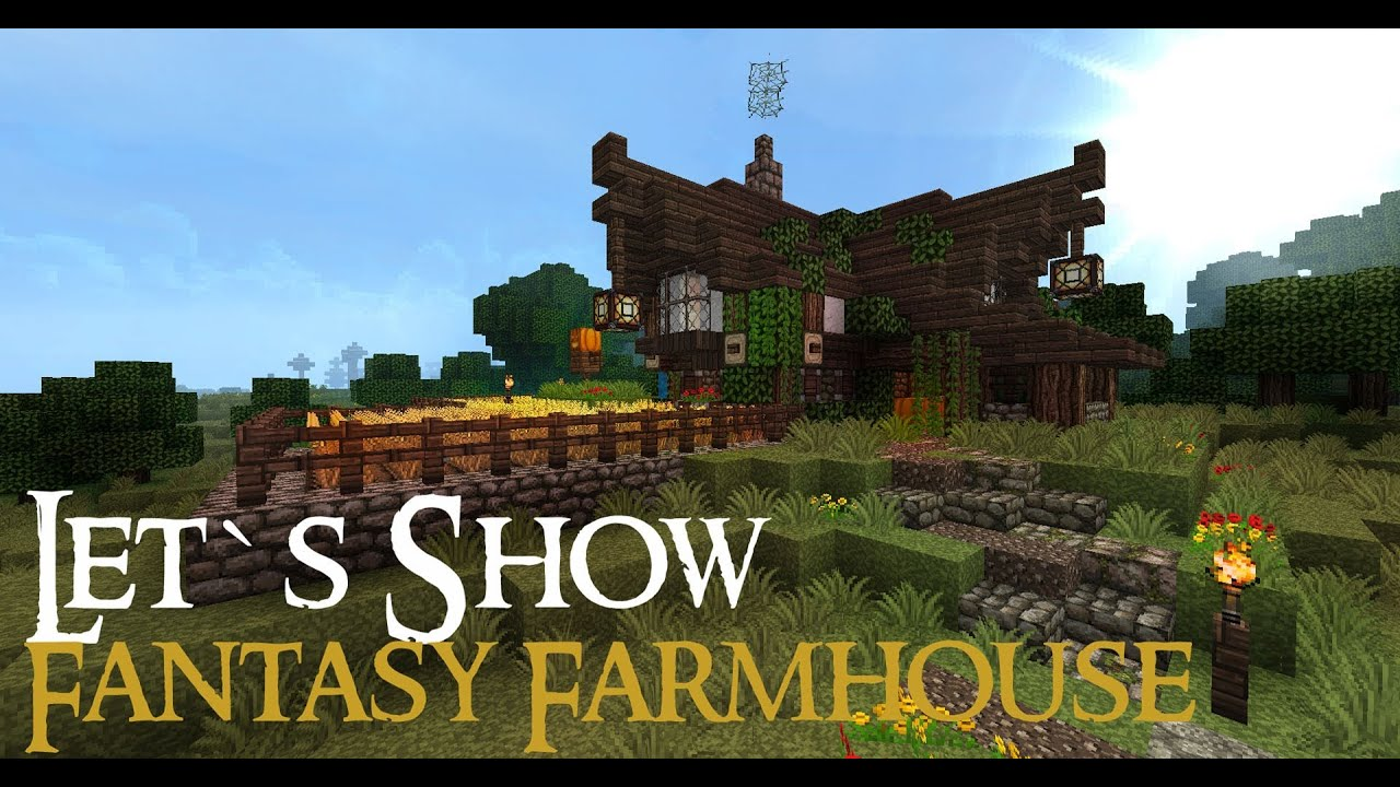 Minecraft Fantasy Farmhouse [Full HD] + Download! - YouTube