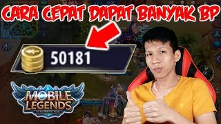 Cara Cepat Dapat 50000 Battle Point Mobile Legends ! - Mobile Legends Indonesia #15