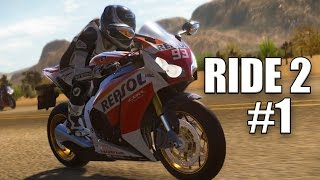 RIDE 2 #1: Faszination Motorrad im Motorrad-Rennsport-Simulator I Let's Play RIDE 2 deutsch