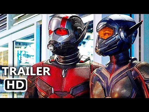 ANT-MAN 2 International Trailer (NEW 2018) Superhero Movie HD