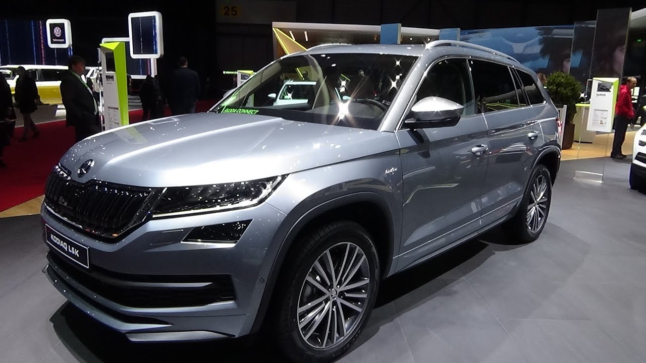 2019 skoda kodiaq laurin klement 2 0 tdi 4x4 exterior and interior geneva motor show 2018. Black Bedroom Furniture Sets. Home Design Ideas
