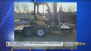 Alleged chop shop owner found with stolen trailers, forklift: KCSO