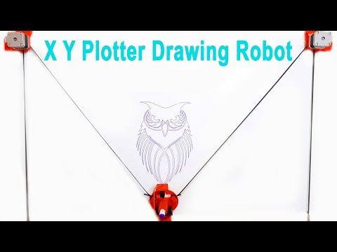 XY Plotter Drawing Robot | Arduino | Polargraph: 7 Steps