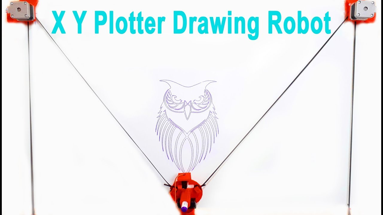 XY Plotter Drawing Robot | Arduino | Polargraph: 7 Steps