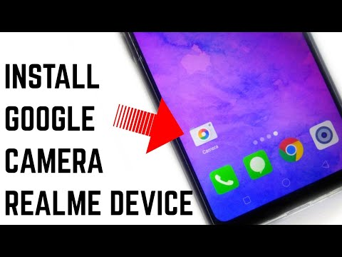 How To Install Google Camera On Realme C1 | No Root Needed